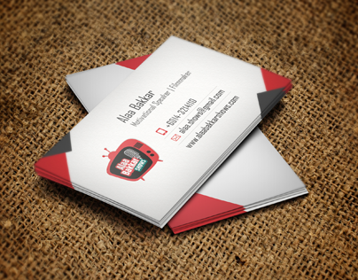 كارت شخصي علاء بكار - Business Card