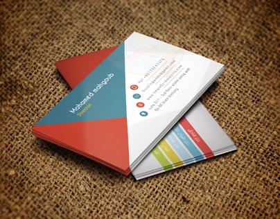 كارت شخصي وادي ماليزيا - Business Card
